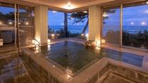 2つの内湯は朝と夜の入替制です。是非両方のお風呂をお楽しみください。