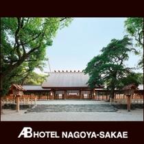 観光スポット:熱田神宮本宮拝殿