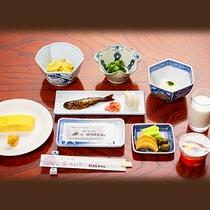 【ご朝食一例】体にやさしい朝ごはんで1日の始まりを