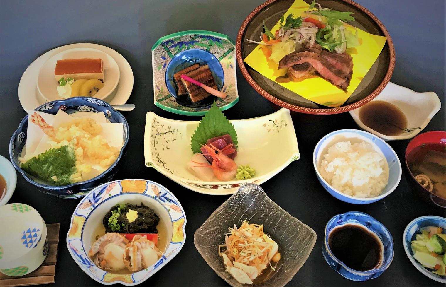 宿泊ご夕食(1例)