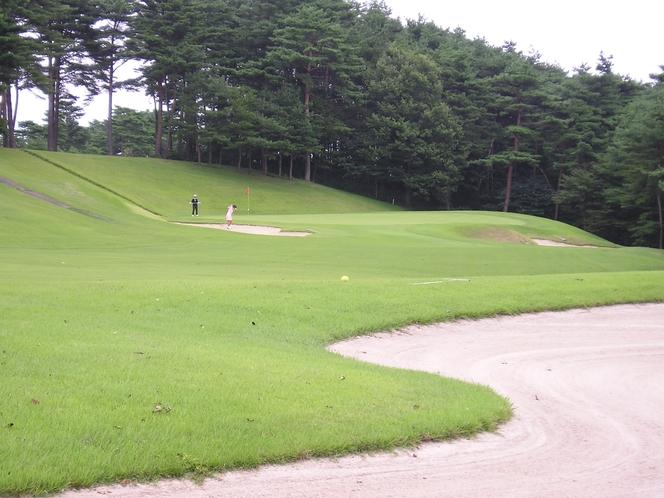 栗駒ゴルフ倶楽部 コース1例