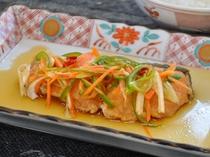【ご夕食】魚料理の一例