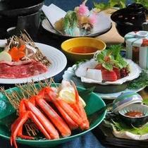グレードアップ<日本海のお魚ご膳>