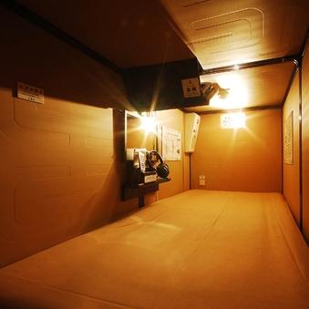 【お昼寝】☆人工温泉付☆VIPカプセル