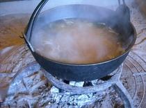 朝食のお味噌汁(平成26年3月1日撮影)