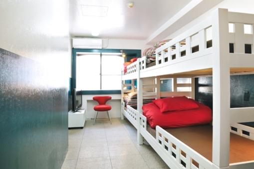 4名様用プライベートルーム【二段ベッド】【個室】【禁煙】