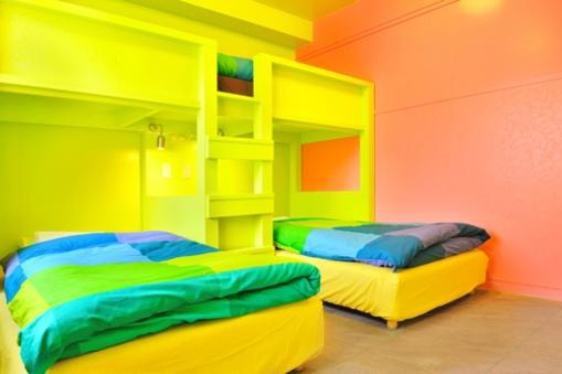3名様用プライベートルーム 【二段ベッド】【個室】【禁煙】