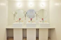 充実の女性専用設備&バスルーム