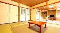 【10畳和室】10畳のふすま仕切のお部屋です