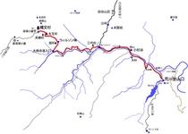 縄文杉ルート図