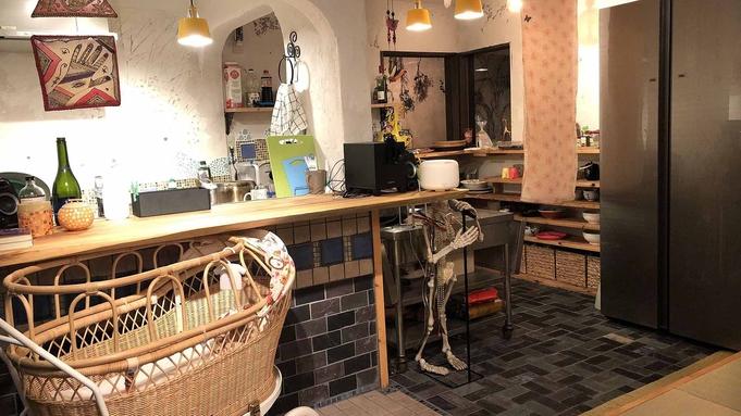 【素泊まり】広めの共用キッチンで自炊もらくらく♪ キッズスペース完備でお子様も歓迎です!