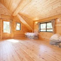 *【客室例】広々♪一棟建てのコテージを贅沢に利用できます。