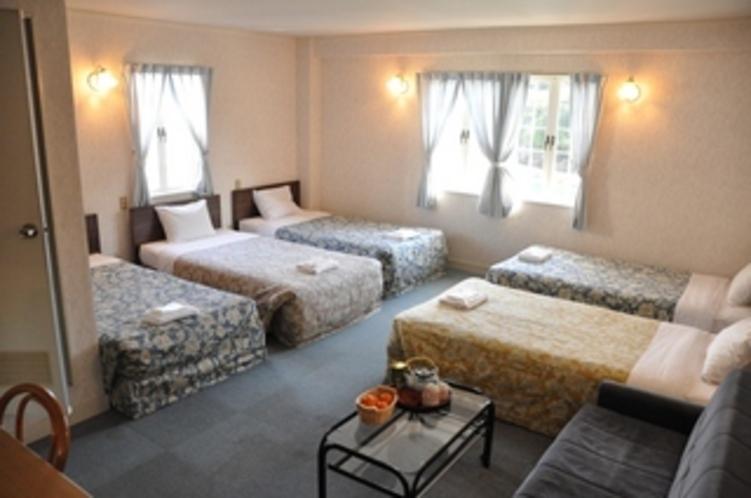 5ベッドルーム:大勢で楽しくパジャマパーティー♪