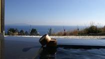 大露天風呂「長閑の湯」からの眺め(スマホ専用画像)