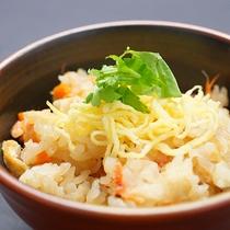 桜海老と新生姜の香りご飯