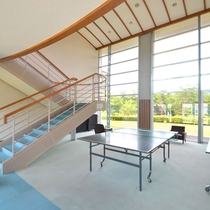 *客室廊下の中央に設置されている卓球台は自由にご利用いただけます
