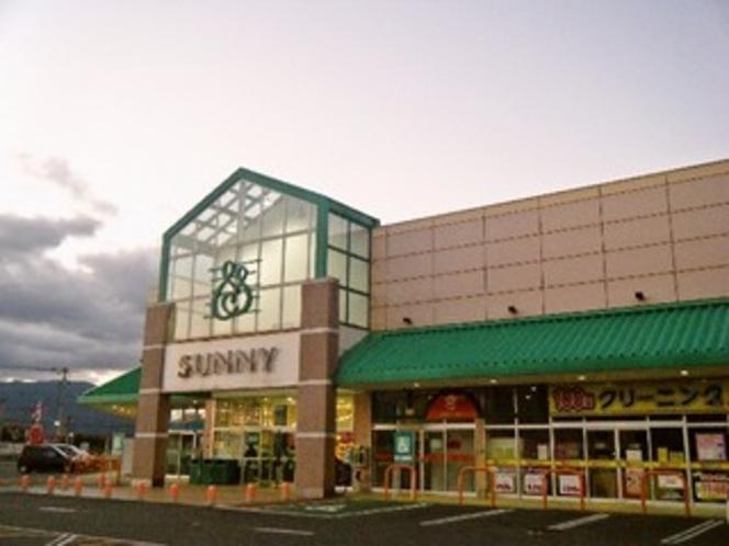 ≪サニー前原店≫24時間営業のスーパー  すぐ隣です。