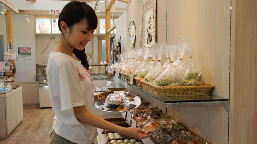 *大芝高原内施設《味工房》/地元の食材を使用したオリジナル製品が人気♪