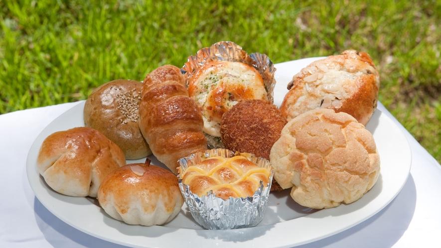 *大芝高原内施設《味工房》/種類豊富な手作りパンは朝食やおやつにも人気!