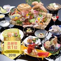 楽天トラベル朝ごはんフェスティバル2018島根県1位