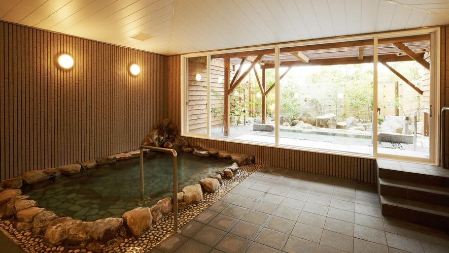 *<大浴場>白浜温泉の良湯をゆっくりご堪能下さい。湯あがりのお肌はすべすべもちもち。