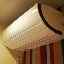 全室にエアコン設置 長い寒い日も、短い暑い日も