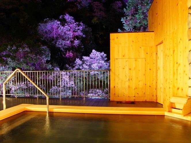 大浴場露天(LED照明)