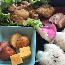 *感謝プラン限定・夕食(生姜焼き弁当)