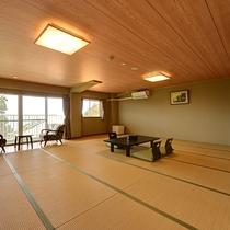 *東館和室(客室一例)/団体の方もご宿泊可能です