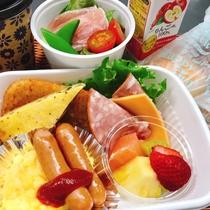 *朝食(バスケットモーニングセット)