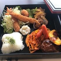*感謝プラン限定・夕食(海老フライ弁当)
