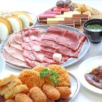 *マザー牧場キラキラ食べ放題/せいろ蒸し一例