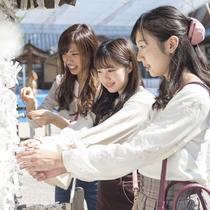 **癒しの女子旅イメージ/パワースポットがいっぱいの鹿野山で女子旅!