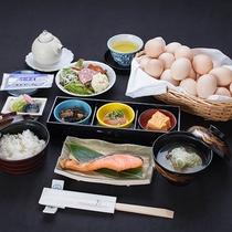 *ご朝食(一例)/色彩やかにおもてなし