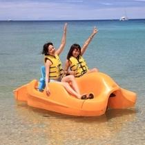 【かりゆしビーチ】ペダルボート