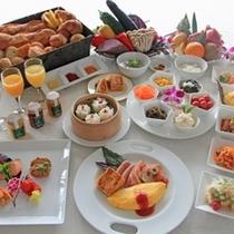 【ダイニング暖琉満菜】朝食バイキングイメージ