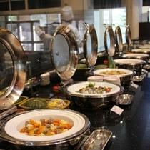【THE DINING 暖琉満菜】ディナービュッフェ 一例