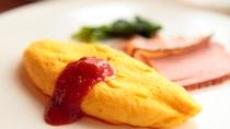 ◇THE DINING 暖琉満菜【朝食】あつあつの出来立てオムレツ!