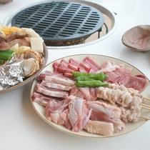 【バーベキュー一例】肉や野菜などをお好みの焼き加減で