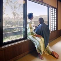 お部屋からの阿蘇の絶景をお楽しみ下さい