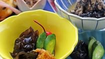 【料理一例-キクラゲの辛子味噌和え】