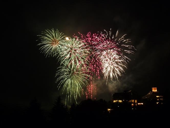 りんどう湖の花火