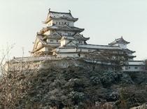 姫路城(冬)