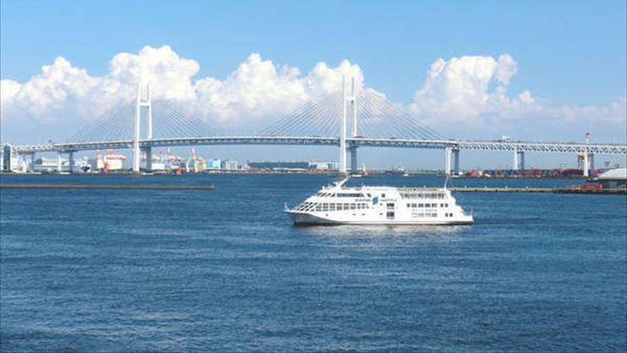 海が近いのも横濱ならではの魅力。港街の横濱ですね