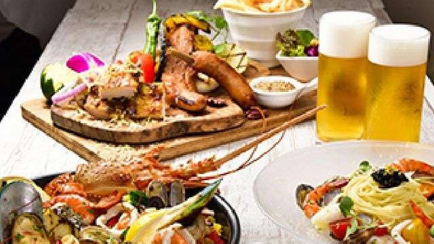 ◆キャビアやトリュフなど豪華食材をオトクに味わえるメニューも豊富