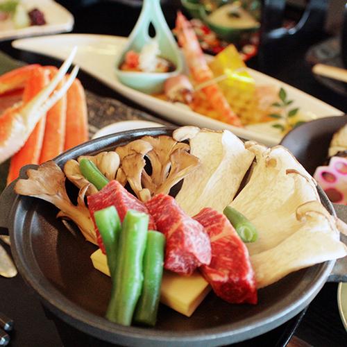 季節の会席料理例