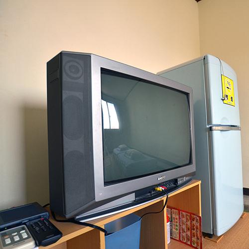 TV&冷蔵庫完備(2段ベッドタイプ除く)