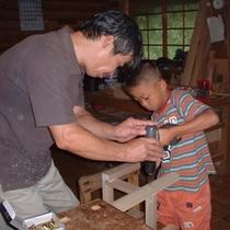 手作り体験(木工制作)