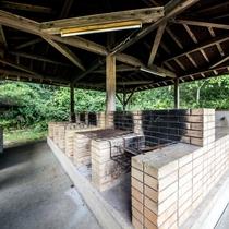 馬場山キャンプ場の炊事場