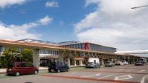 **2013年に開港。空港内には八重山諸島の特産品がずらり!南国気分が盛り上がります♪